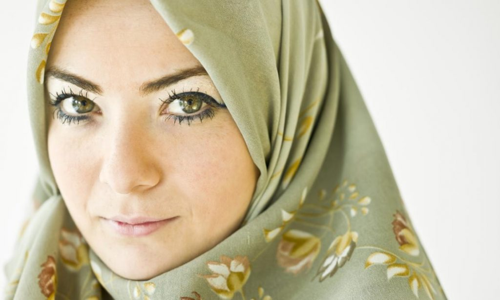 Hijab stock photo