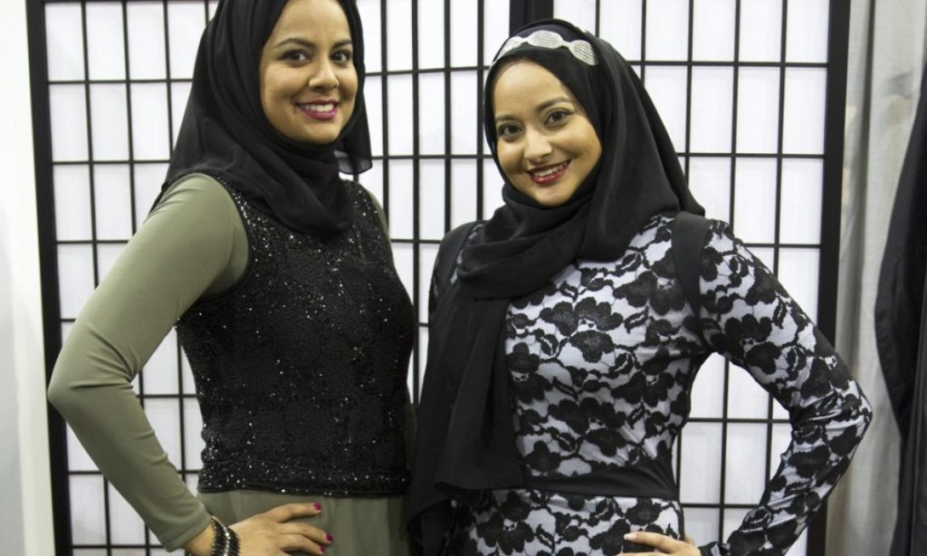Muslim Sisters Design Clothes