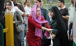 Iranian women voice outrage mandatory hija dressing-lik men small