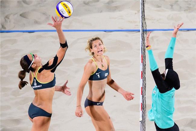 8.10.16 More Athletes in Hijab at Rio