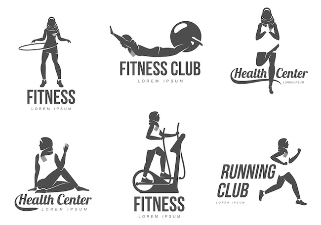 Muslim aerobic logo