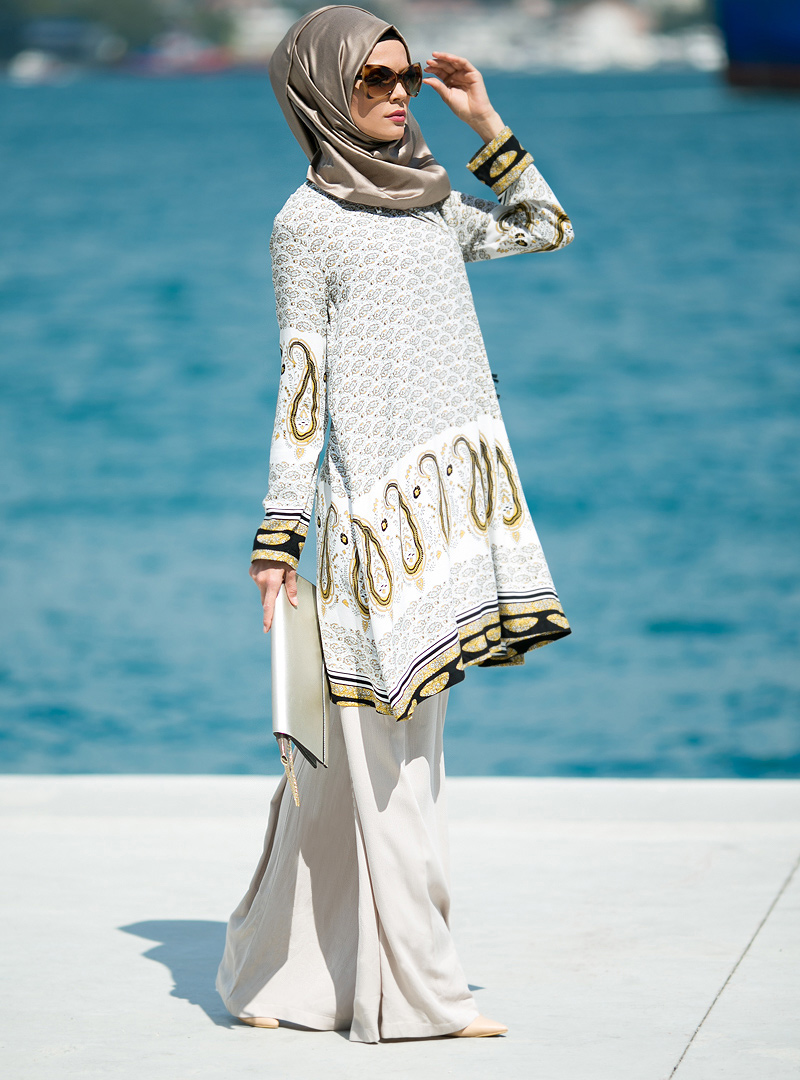 Stylish Hijabi Mommy Outfits