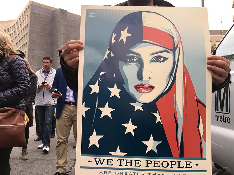 Hijab at the Inauguration