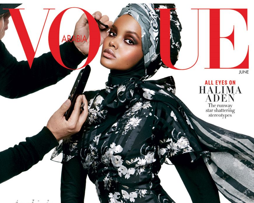 Vogue Arabias first cover stars Gigi Hadid, sparks strong