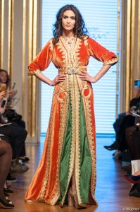 modest fashion show, paris, goltune