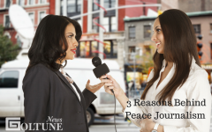 peace journalism Journalism could be used as a strong vehicle