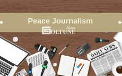 Peace journalism aims to tell stories about Muslim culture and women's lives.