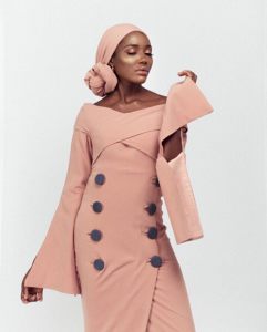 Amnas African Modest Fashion Wear Launches a New Capsule goltune news sara jamshidi