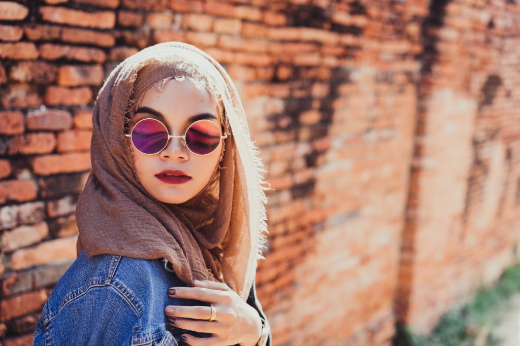 Muslim Women Call Themselves Beautiful