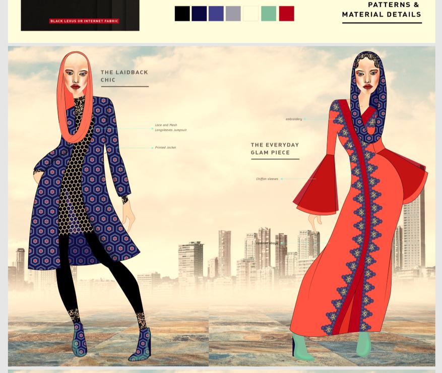modest fashion, goltune news, sara jamshidi