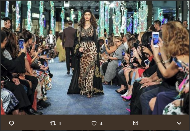 goltune news, modest fashion, dolce gabbana, middle east, dubai