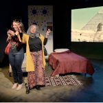 veils, macha theatre works, tom coash, amy poisson, Lia sima fakhouri, Egypt, cairo