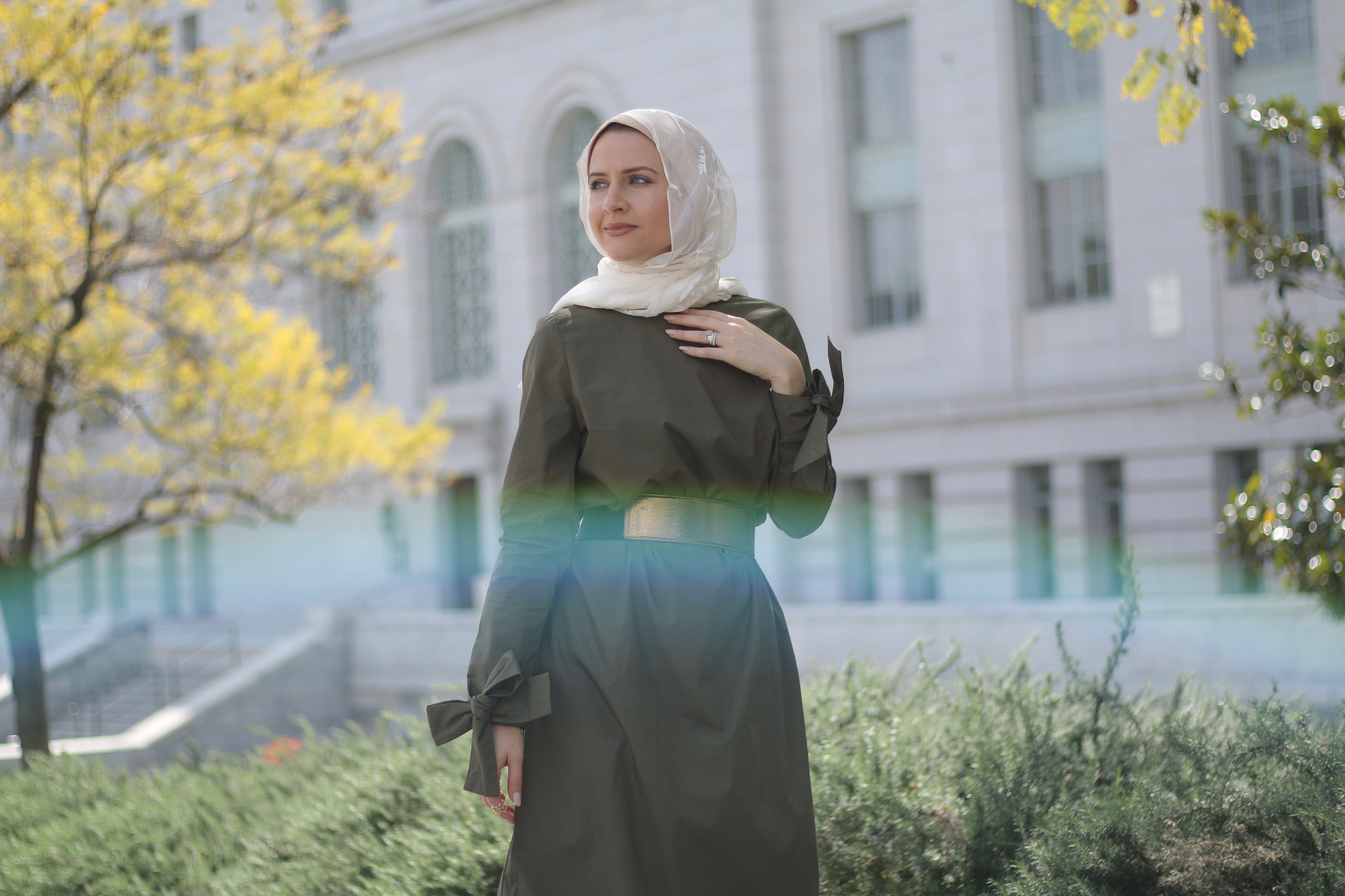 First Hijabi Officer at the U.S. Air Force muslim women