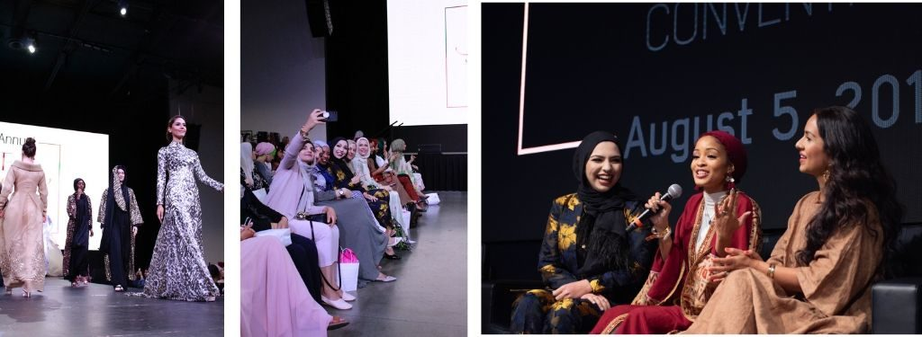 sara jamshidi, women who support women, motherhood, sara jamshidi, pfhconvention6, hassanah el yacoubi, goltune, modest fashion show