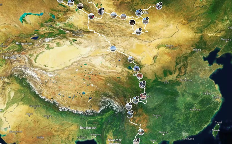 travel to china, overlanding through china, camping, traveling